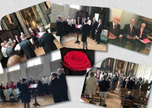 Gregoriaanse gezangen tijdens 1ste Pinksterdag